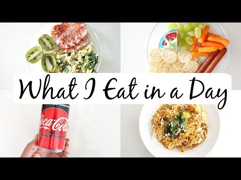 "What I Eat in a Day to Lose Weight + Meal Prep | not following any ""diet"""