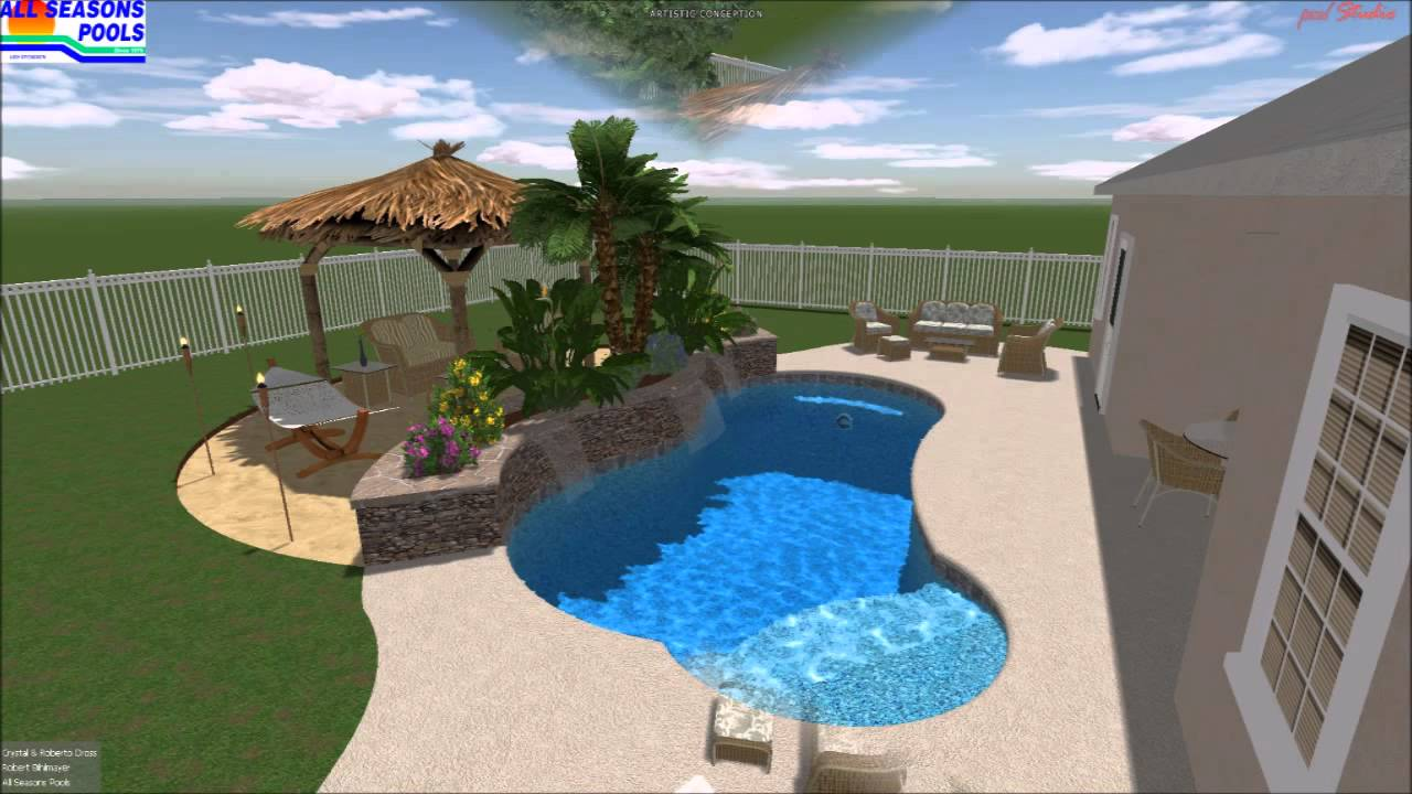 Best Pool Builders in Tampa Fl  Pool Design Animation  YouTube