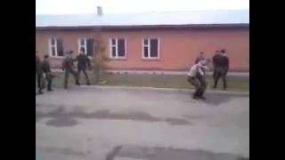 армия, драка раз на раз в армии