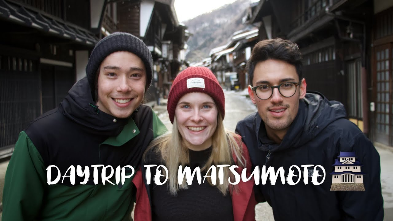 Download Visiting an old Japanese village and Matsumoto Castle