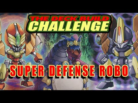 SUPER DEFENSE ROBO - The Deck Build Challenge w/ Windshadow 64 Vs. FEWA