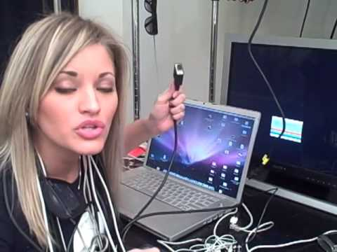 IJustine2k Teaches You How To Use A DVI To VGA Converter | IJustine