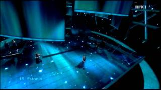 Estonia  - Final - Eurovision 2009 (HD)