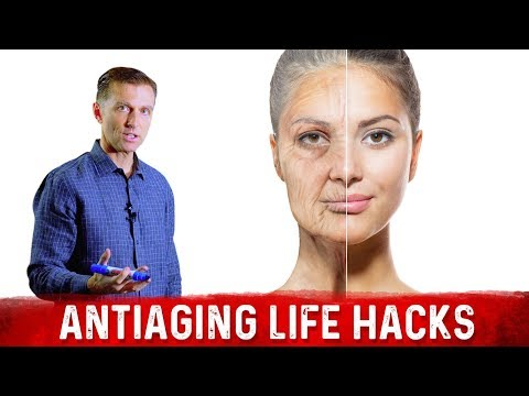 How to Slow Down the Aging Process: 3 Life Hacks