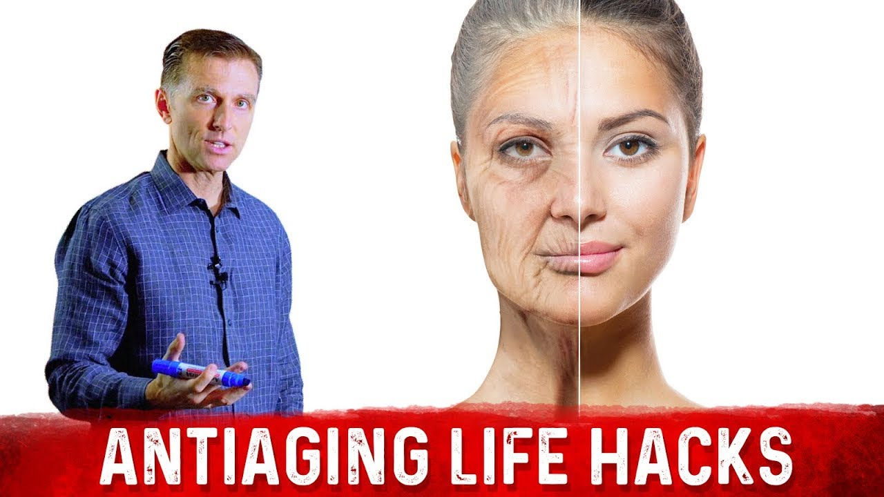 How To Slow Down The Aging Process: 3 Life Hacks For Anti Aging   Dr.Berg