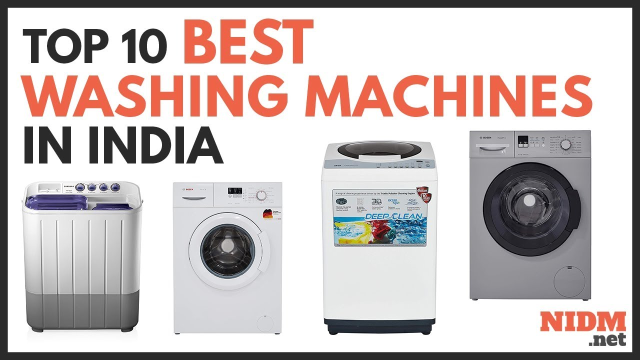 ️ Top 10 Best Washing Machines in India 2019 - Reviews ...