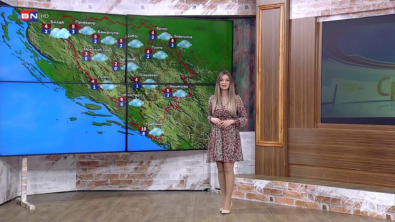 Vremenska Prognoza Ponedjeljak 4 Februar Bn Televizija 2019 Hd