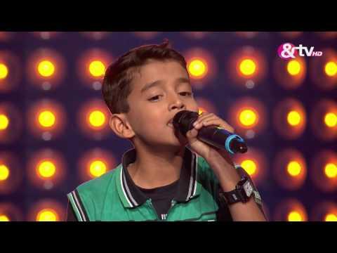 Utkarsh Wankhade - Blind Audition - Episode 8 - August 14, 2016 - The Voice India Kids