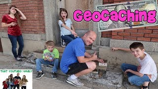 WE LEFT $100 AT GEOCACHE! / That YouTub3 Family