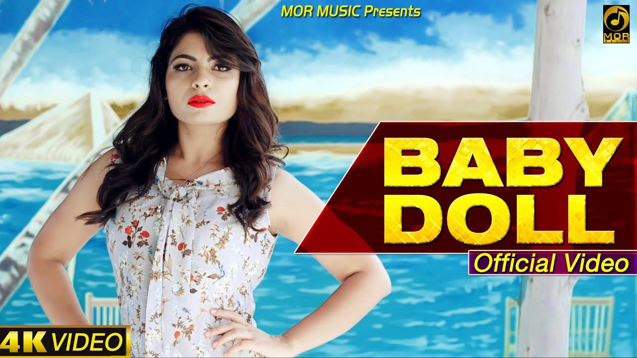 Baby Doll (Official Video) || Anu Kadyan || New Haryanvi DJ Song 2019 # AK & Ajay Hooda # Mor Music