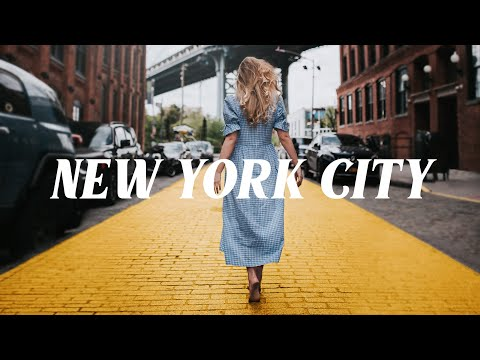 NYC VLOG #1 - Shooting 'Golden Road' Self Portrait // Manhattan Bridge