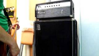 Ampeg Svt Vr bridging Channel 1 and Channel 2 - Fender Precision Bass vintage reissue classic '50