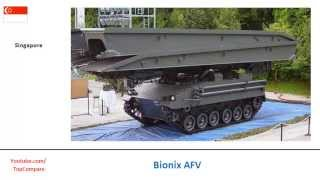 bionix afv vs m2 bradley infantry fighting vehicles specifications