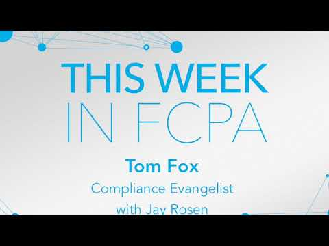 This Week in FCPA-Episode 96, the Opening Day edition