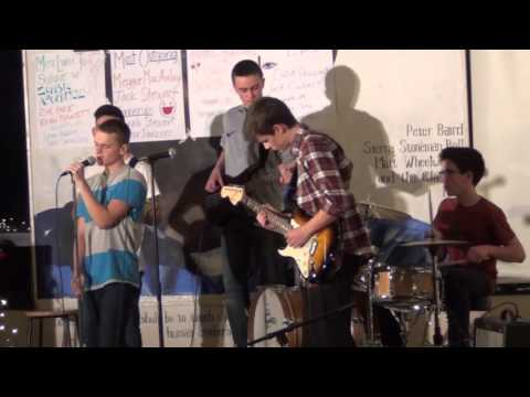 Free Shipping plays PAC coffeehouse, Dec. 2015