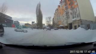 Попытка попасть домой (снегопад в Саратове)