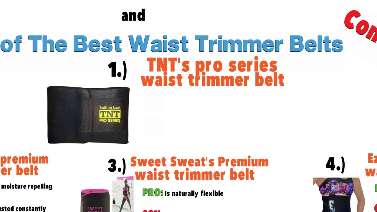 0062c5a560 The Best Waist Trimmer Belts to Buy - YouTube