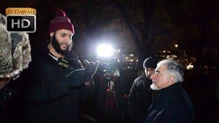 P2 - Shia Query!? Mohammed Hijab Vs Shia Visitor | Speakers Corner | Hyde Park