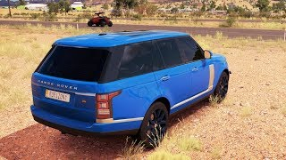Süper Jeep Arabalar İle Zorlu Yollardan Geçme Yarışı (Araba Oyunu - Forza 3)