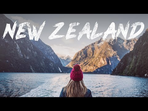 New Zealand Road Trip Travel 2018 - South and North Island