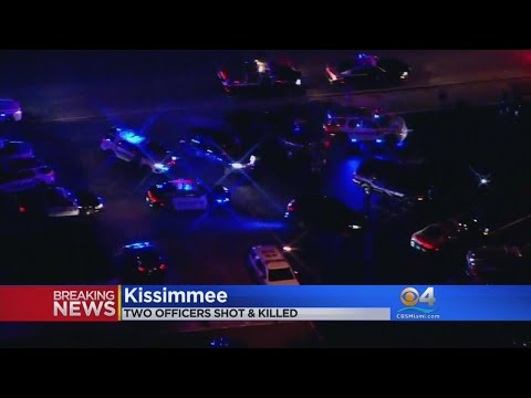 2 Officers Shot, Killed In Kissimmee