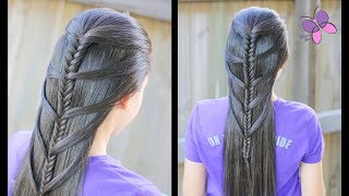 Mermaid Fishtail Braid | Hairstyles for Long Hair | Braided Hairstyles | Chikas Chic