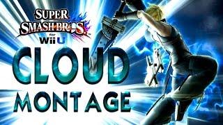 CLOUD! LIMIT BREAKS! (For Glory Montage) // Super Smash Bros. (Wii U)