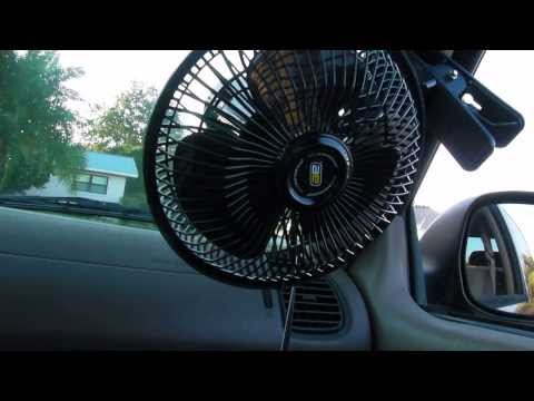 Auto Expressions 12 Volt Clip-on 6-inch Oscillating Fan