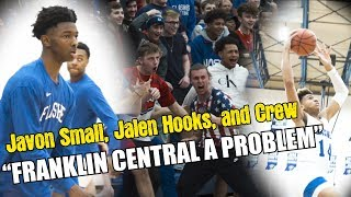 Javon Small, Jalen Hooks and The Franklin Central CREW ARE Straight Up PROBLEM