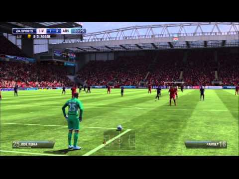 Fifa 13 Manager Mode | Liverpool ep. 6 A poor Defence?