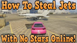 """GTA 5 Online"" How To Get Into Military Base With No Stars Online! ( ""Glitch Tutorial"" )"
