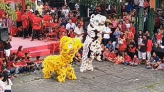 Barongsai & Liong Spesial Imlek 2017 di Mall Bali Galeria
