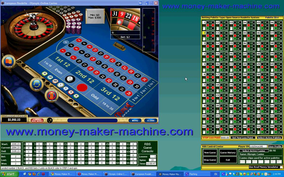 Roulette system to win money