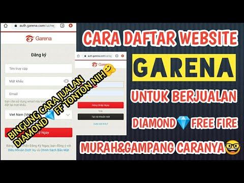 Cara Daftar Website Garena Vn Untuk Berjualan Diamond Ff Murah Dafitsantuy Youtube