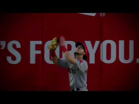 Andrew Benintendi Catch vs. Rangers