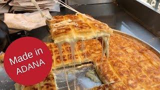 GÖKLERE UZANAN BÖREK - İzol Börek (Adana'nın Bol Peynirli Su Böreği)
