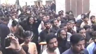 Zanjeer Zani  Khushab PAKISTAN  2012 Moharram