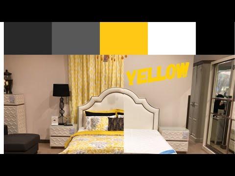 Bedroom Decor  Color Scheme Ideas  Yellow