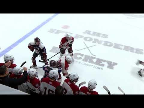 Arlington High School Boys Varsity Hockey vs Belmont - January 20, 2018