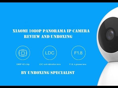 Original Xiaomi Wireless Smart IP 1080p Panorama Camera [Greek]