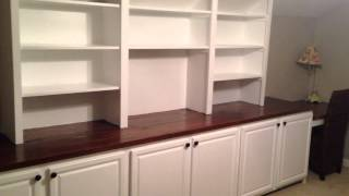 Forestieri Exteriors - Custom Built Shelves and Office