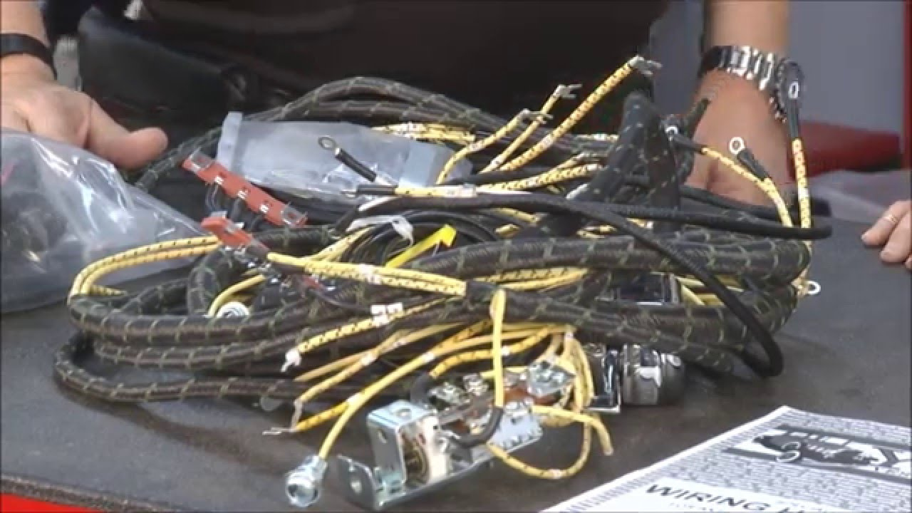 ynzs yesterdays parts manufacturer of classic and antique automotive wiring harnesses [ 1280 x 720 Pixel ]