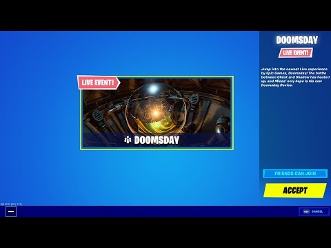 Fortnite LIVE Event.. GAMEPLAY!