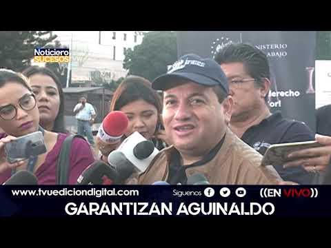 Garantizan Aguinaldo