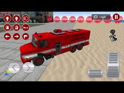 Real Fire Truck Driving Simulator 2020 #3 (Dreamforest Games) | Android Gameplay HD