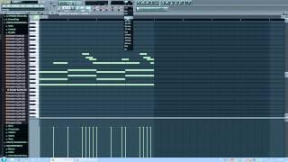Написание бита с нуля в Fl studio [ПодМск] урок рэп минус