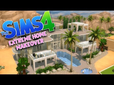 EXTREME HOME MAKEOVER | The Sims 4 Build | Sims 4 Build Off