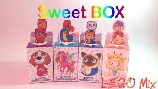 Р N28 - СВИТ БОКС Sweet Box - Пушистики котята, щенята, Пони, Носики Курносики (игрушка + мармелад)