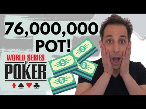 The Craziest Bluff at the 2019 WSOP Main Event Final Table