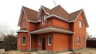 Строительство дома из кирпича(Строительство дома из кирпича - плюсы и минусы, на что стоит обратить внимание при выборе подрядчика СК..., 2016-06-12T11:47:47.000Z)
